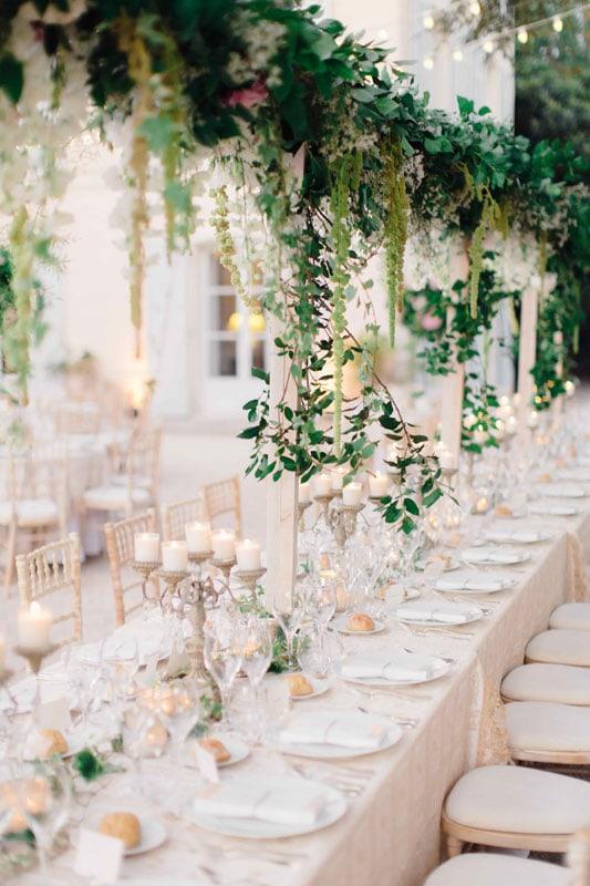 décors floraux mariage